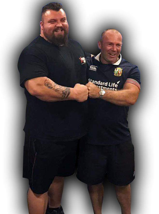 phil richards and eddie hall